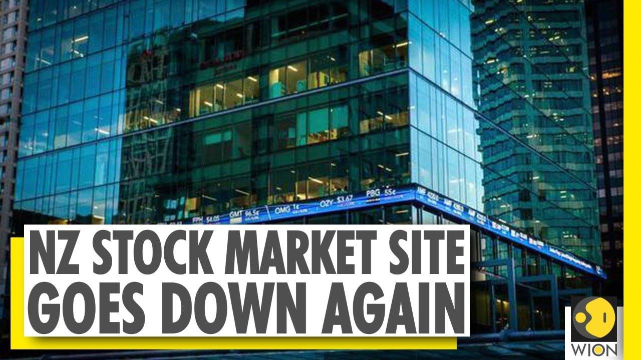NZ stock market website offline for the 5th consecutive day | NZX | World  News - YouTube