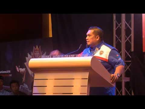 Ucapan Datuk Armand Azha di Malaysia Cyber Games 2018