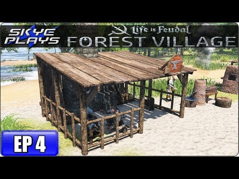 Life Is Feudal Forest Village Let's Play / Gameplay - Ep 4 - Medieval City Building Simulation Game