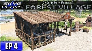 Life Is Feudal Forest Village Let's Play / Gameplay - Ep 4 - BLACKSMITH