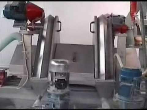 Italian Ceramic Tile Glazing & Printing Plant - YouTube