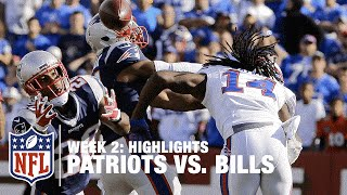 Patriots vs. Bills | Week 2 Highlights | NFL