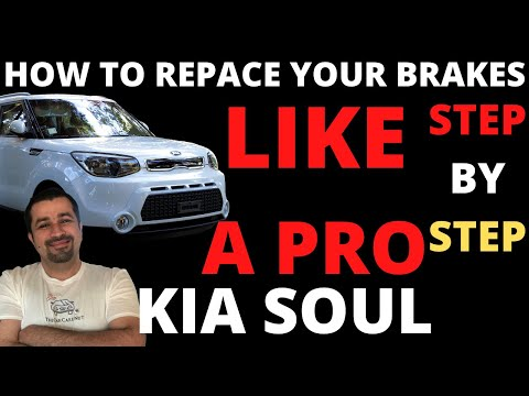 How to replace the front brakes on your Kia Soul like a Pro