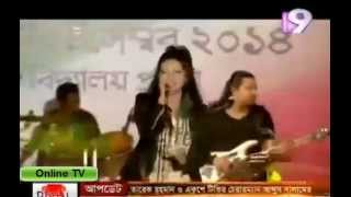 Banglasong   Hot Singer Kornia   Bangla Gaan   Concert for Bangladesh