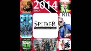 DJ SPIDER TRINIDAD SOCA 2014 MIX