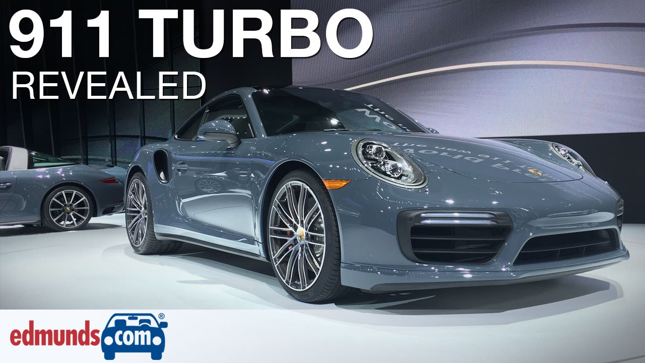 Awesome 2017 Porsche 911 Turbo Revealed  Detroit Auto Show  YouTube