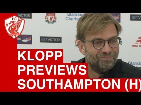 Jurgen Klopp Pre-Match Press Conference - Liverpool vs. Southampton (League Cup Semi Final)
