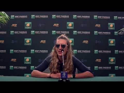 Victoria Azarenka Quarter Final Press Conference 2021 BNP Paribas Open