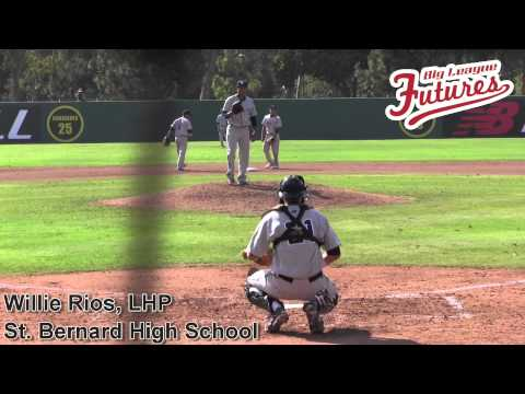 WILLIE RIOS PROSPECT VIDEO, LHP, ST BERNARD HIGH SCHOOL CLASS OF 2014 @ACBASEBALLGAMES SHORT