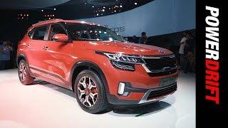 Kia Seltos : Kia's first car for India : PowerDrift