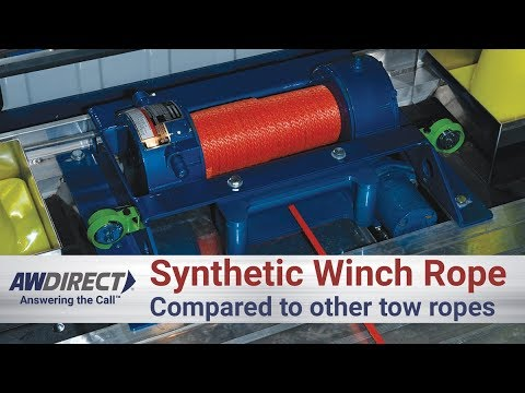 Synthetic Winch Rope vs Cable and Other Tow Ropes