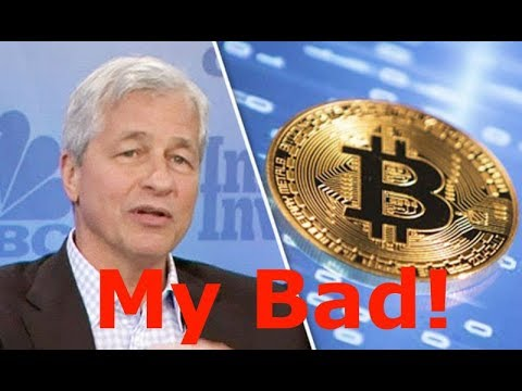 Jamie Dimon Regrets calling Bitcoin a Fraud - Mark Zuckerberg Studying Cryptocurrency