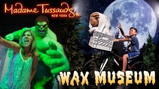 Kids Get Dipped in HOT WAX!!! MADAME TUSSAUDS NEW YORK Wax Museum!