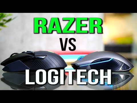 Razer Lancehead Wireless Mouse Review VS Logitech G900 & G403