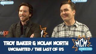 Troy Baker  Nolan North Press Panel Interview - MCM Comic Con Birmingham - March 2018