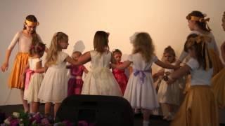 Детский танец на пасху
