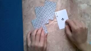 Фокус с картами +Обучение:D