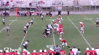 "James Davis (SO QB 5""11 160 lbs)  Bayside High School Highlights"