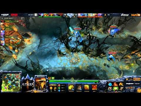 Secret vs BG - DAC 2015 - LB - Finals - G3