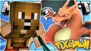 GETTING A SHINY BULBASAUR + MY NEW LEVEL 100 CHARIZARD! (Pixelmon HIGHLIGHTS!)
