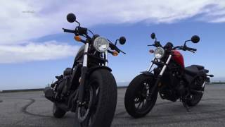 Honda レブル 250/500試乗 WEBミスター・バイク