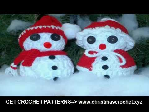 Crochet Christmas Ornaments Patterns Free Crochet Projects Youtube