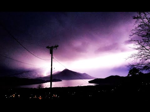Lake Isabella Lightning Storm 02 22 2020