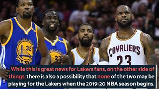 NBA Trade Rumors: LA Lakers Might Just End Up Without LeBron James, Kyrie Irving