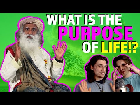 What is the Purpose of Life?! (Part 1) - learn with us - Sadhguru Reaction