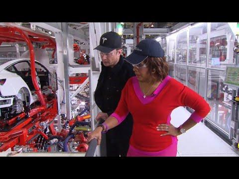 "Tesla CEO Elon Musk calls Model 3 assembly line ""'Westworld' for cars"""