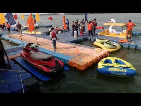 Bhavani Island Speed Boating & resorts at Vijayawada