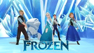 Thank You - Frozen Elsa Anna Kristoff Hans Marshmallow - Mmd - Celebrating 5000 Subscribers