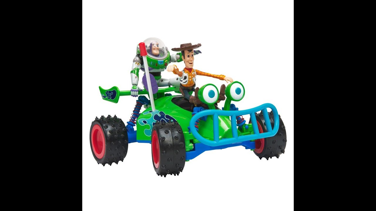 Toy Story Rc Race Car And Woody Figure