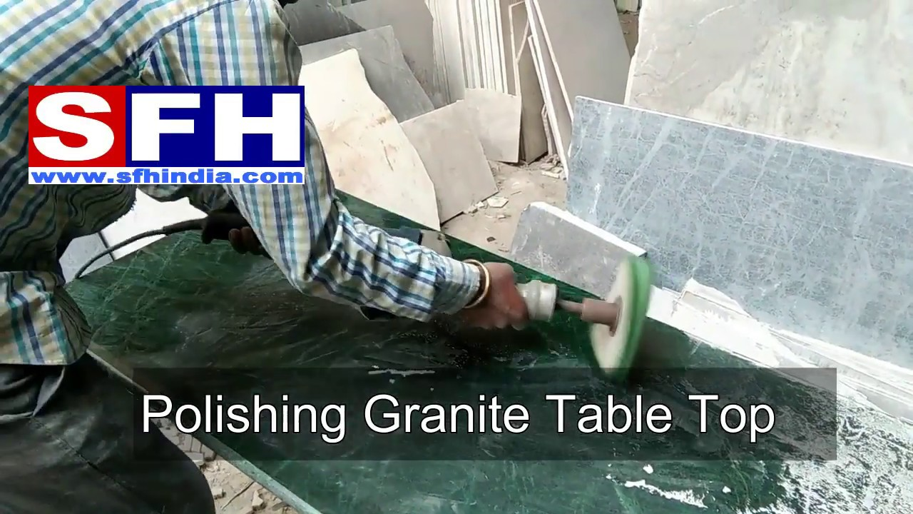 How to polish Granite Table top