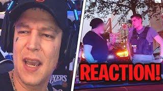 Reaktion auf POLIZEI vs. PS-PROTZE😂 MontanaBlack Reaktion