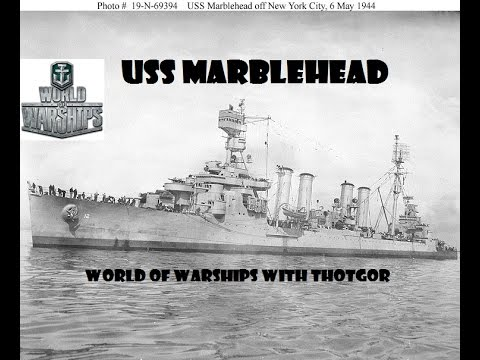 World of Warships- USS Marblehead Is Here!