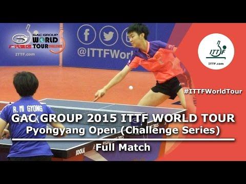 2015 ITTF Pyongyang Open: SUN VS RI (Women's Singles Semi-Final)