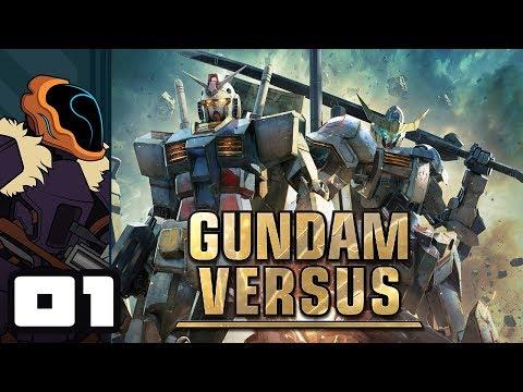 Let's Play Gundam Versus - PS4 Gameplay Part 1 - It's Stuck In My Head!