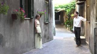 Свадьба в Италии. Рим, Сант Оресте. Вера и Дима.