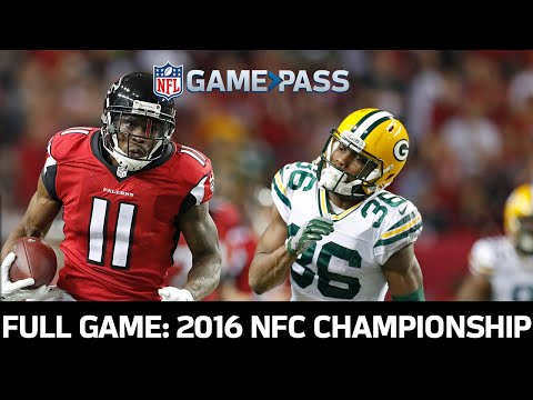 Green Bay Packers vs. Atlanta Falcons 2016 NFC Championship Full Game