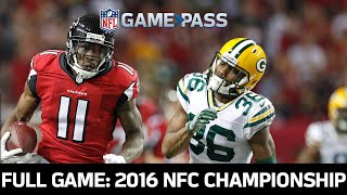 Green Bay Packers vs. Atlanta Falcons 2016 NFC Championship Full Game