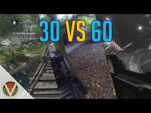 30 vs 60 Frames per Second - Comparison Video (Watch on PC in HD)
