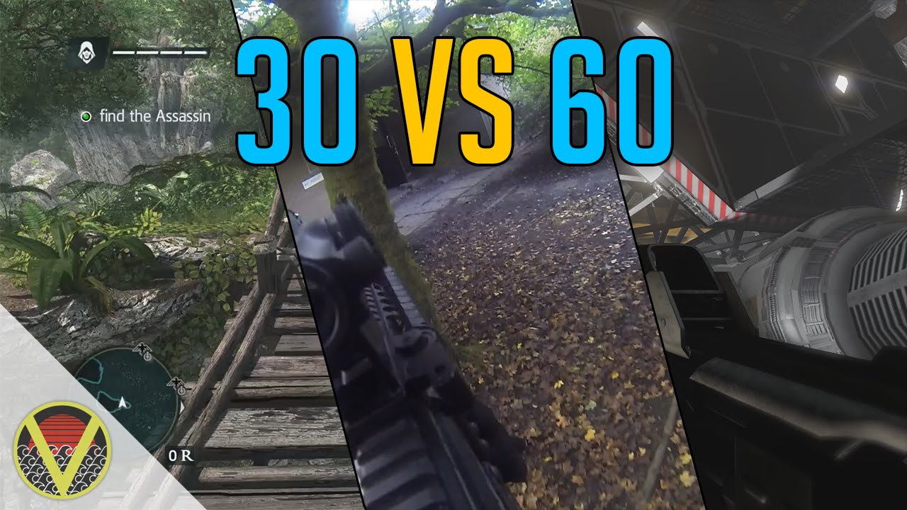 30 vs 60 Frames per Second - Comparison Video (Watch on PC in HD ...