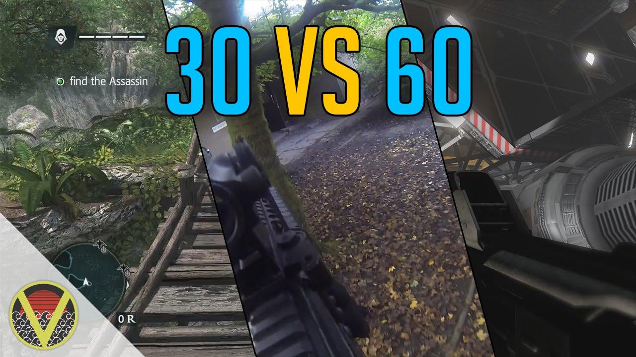 30 Vs 60 Frames Per Second