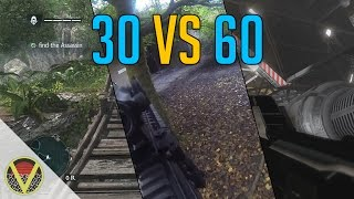 30 vs 60 Frames per Second - Comparison Video (Watch on PC in HD)
