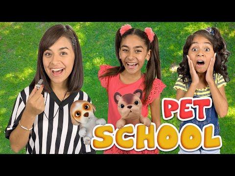 Pet School - OMG Pets : Toy Unboxing // GEM Sisters