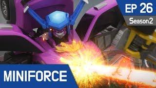 Miniforce Season2 EP26 Miniforce, The Final Battle Pt  2 (English Ver)