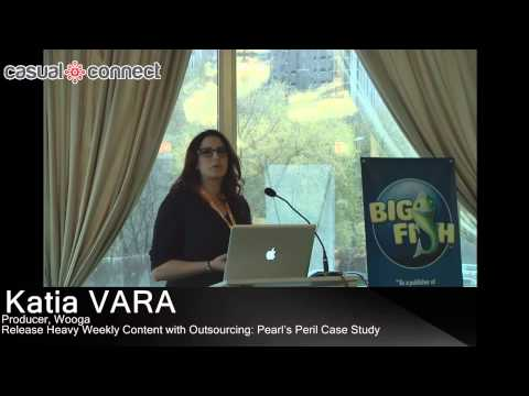 Release Heavy Weekly Content with Outsourcing: Pearl's Peril Case Study | Katia VARA