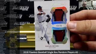 12/9/2018 2018 Flawless Baseball Single Box Random Players #3