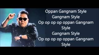 Gangnam Style - Psy LYRICS
